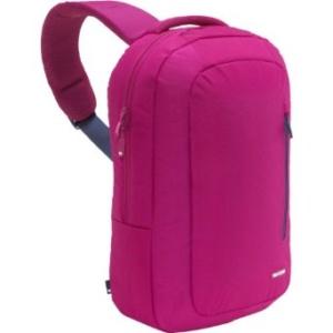 Нейлоновый рюкзак для ноутбука Incase Sling Fuchsia до 15″ Розовый (с одной ручкой)