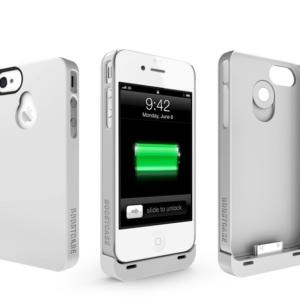 Дополнительный аккумулятор BoostCase Hybrid для iPhone 4/4S White