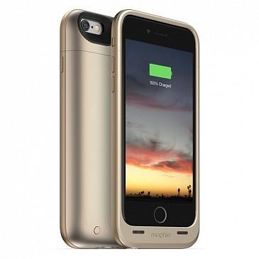 Чехол-аккумулятор Mophie Juice Pack Air 2750 мАч для iPhone 6/6s золотой