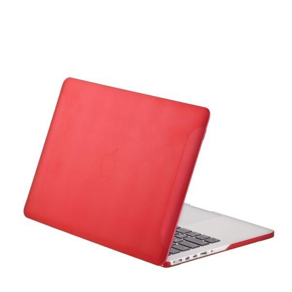 BTA Чехол-накладка для Apple MacBook Pro Retina 13″ Красный Матовый