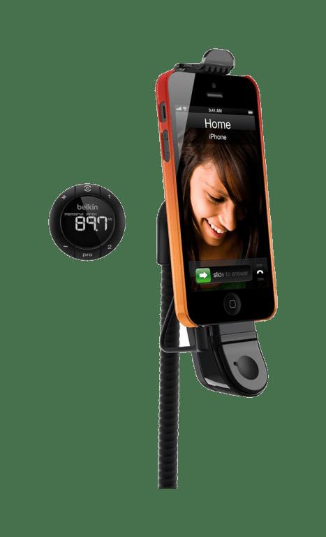 Belkin FM трансмиттер TuneBase Hands-Free FM для iPhone 5/5S