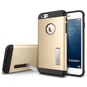 Spigen Slim Armor Champagne Gold чехол для iPhone 6 Plus