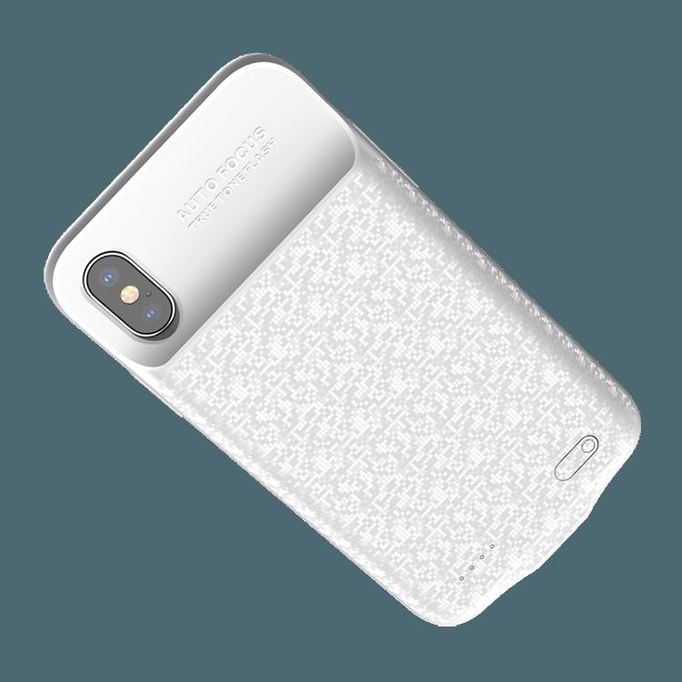 Baseus Power Bank Case дополнительный аккумулятор 3500mah для iPhone X Белый
