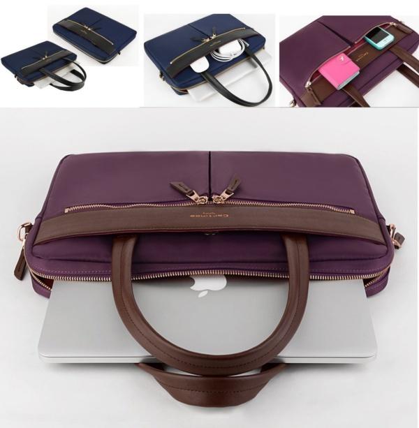 cartinoe 2 600x613 - Cartinoe london сумка для ноутбука 15″ с длинными ручками черная