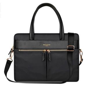 Cartinoe london сумка для ноутбука 15″ с длинными ручками черная