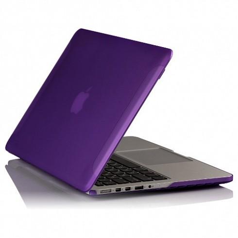 """BTA Чехол-накладка для Apple MacBook Pro Retina 13"""" Фиолетовый Матовый"""
