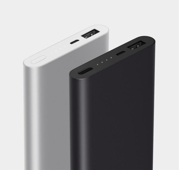 Внешний аккумулятор Xiaomi 2 10000 мАч 1 USB Black