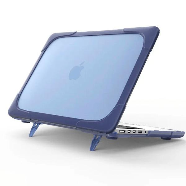 Hard Shell противоударный чехол Macbook Retina 13 TouchBar Фиолетовая