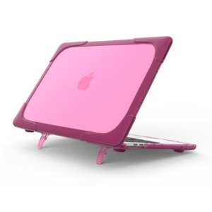 Hard Shell противоударный чехол Macbook Air 13 Фуксия