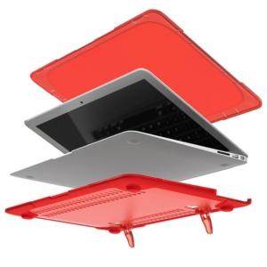 Hard Shell противоударный чехол Macbook Air 13 Красная