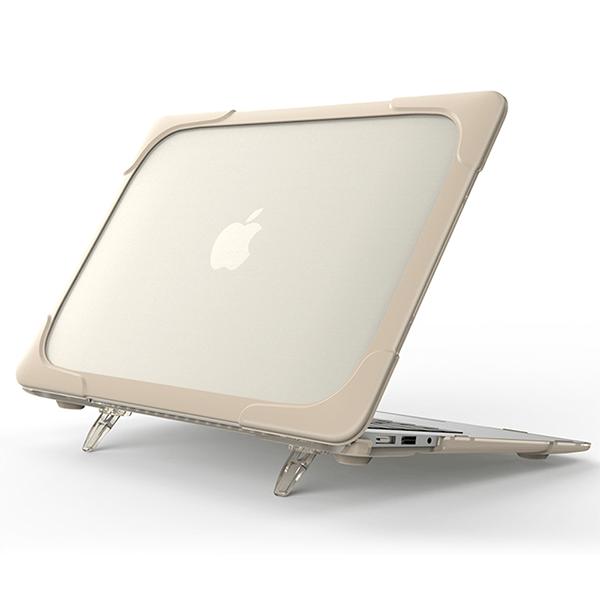 Hard Shell противоударный чехол Macbook Air 13 Бежевая
