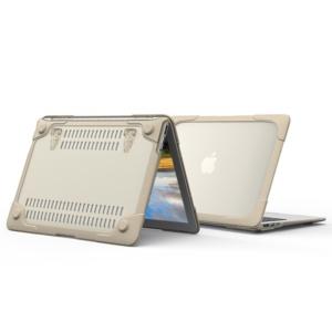 Hard Shell противоударный чехол Macbook Retina 13 Бежевая