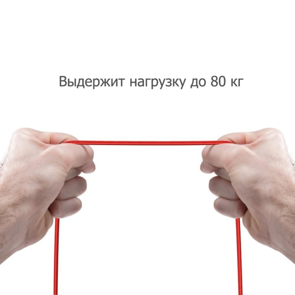 Anker PoweLine+ кабель USB Lighting 1.8м Красный