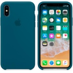 Apple iPhone X Silicone Case Cosmos Blue 2