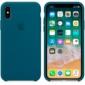 Apple Silicone Case чехол для iPhone Apple iPhone X Lemonade