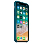 Apple iPhone X Silicone Case Cosmos Blue 3