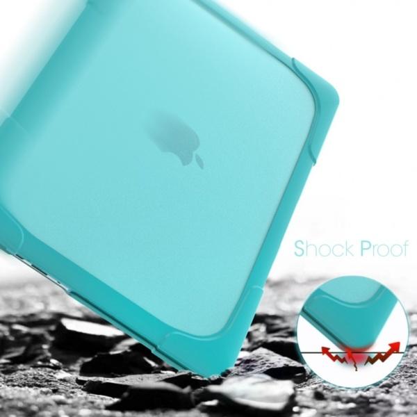 Hard Shell противоударный чехол Macbook Retina 13 TouchBar Бирюзовая
