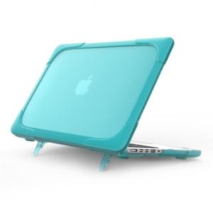 Hard Shell противоударный чехол Macbook Retina 13 Бирюзовая