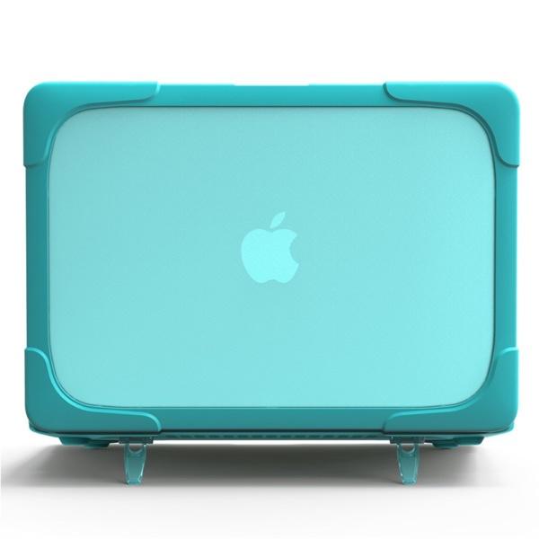 Hard Shell противоударный чехол Macbook Air 13 Бирюзовая