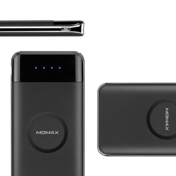 Внешний аккумулятор Momax iPower AIR Wireless 10000mAh аккумулятор с беспроводной зарядкой