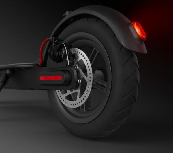 Xiaomi Mijia Scooter электросамокат черный