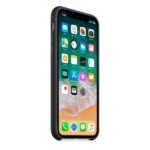 iPhone Apple iPhone X Silicone Case Black 3