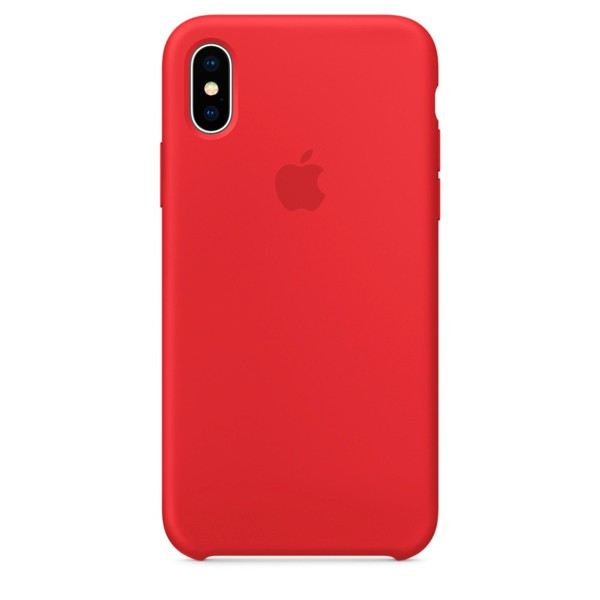 Apple Silicone Case чехол для iPhone Apple iPhone X (PRODUCT)RED
