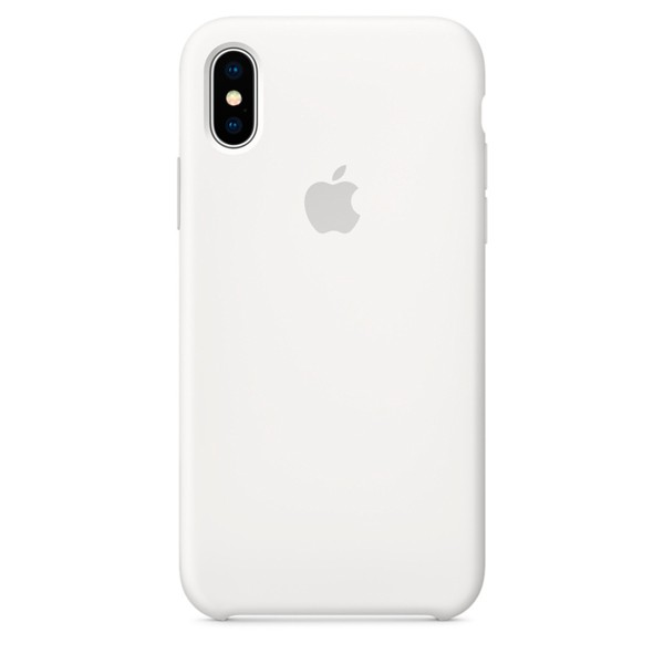 Apple Silicone Case чехол для iPhone Apple iPhone X White