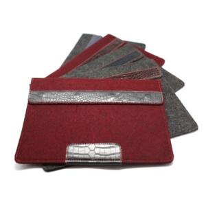 Ivanko войлочный чехол для ноутбука 13.3 Темно-красный