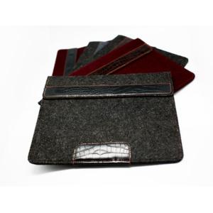Ivanko войлочный чехол для ноутбука 13.3 Темно-серый Кроко