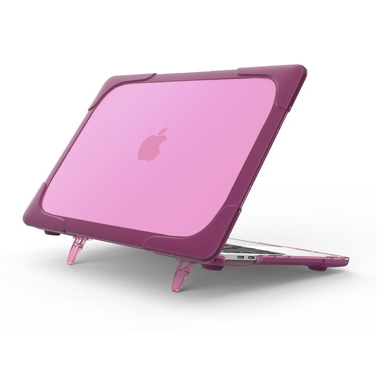 Hard Shell противоударный чехол Macbook Retina 13 TouchBar Фуксия