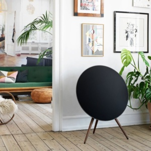 Беспроводная акустика Bang & Olufsen BeoPlay A9 без ножек (Black/Without Legs)