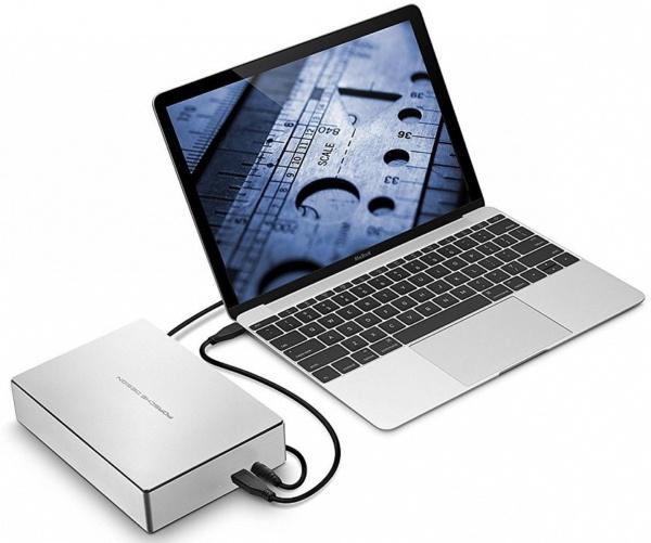 "Внешний диск Lacie Porsche Design (STFE4000401) 4TB 3.5"" USB 3.0 Type C"
