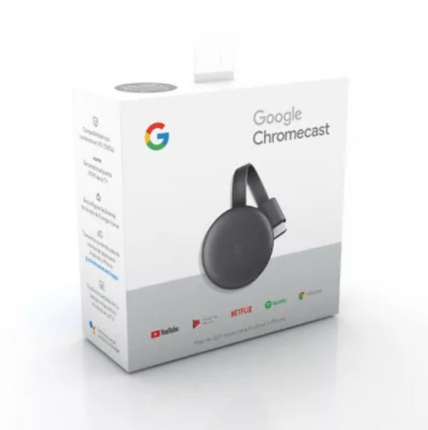 Медиаплеер Google Chromecast 3