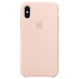 Чехол для iPhone Apple iPhone XS Silicone Case Pink Sand