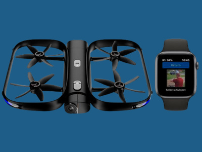 skydio r1 400x300 - С экрана Apple Watch теперь возможно управлять летающей камерой Skydio R1