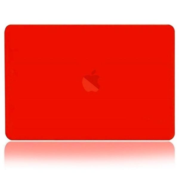 BTA Чехол-накладка для Apple MacBook Air 13 2018 (Красная матовая)