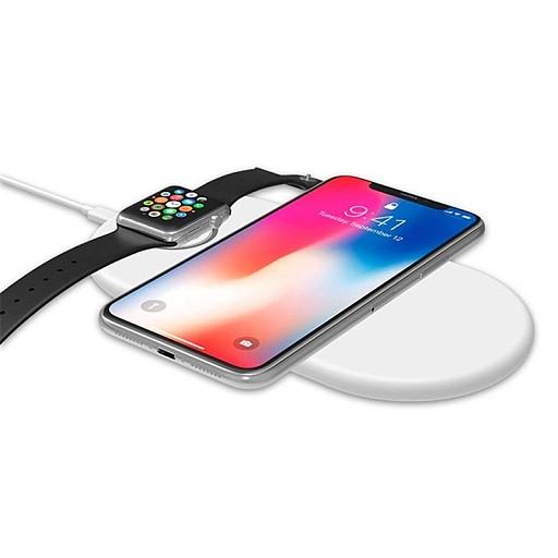 Беспроводное зарядное устройство Baseus Smart 2-in-1 Wireless Charger