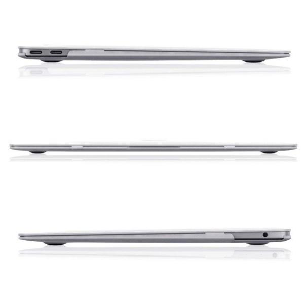 BTA Чехол-накладка для Apple MacBook Air 13 2018 (Прозрачная матовая)