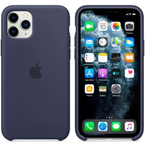 Чехол для iPhone Apple iPhone 11 Pro Max Silicone Case Midnight Blue