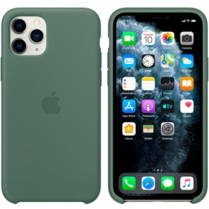 Чехол для iPhone Apple iPhone 11 Pro Max Silicone Case Pine Green