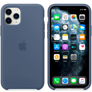 Чехол для iPhone Apple iPhone 11 Pro Max Silicone Case Alaskan Blue