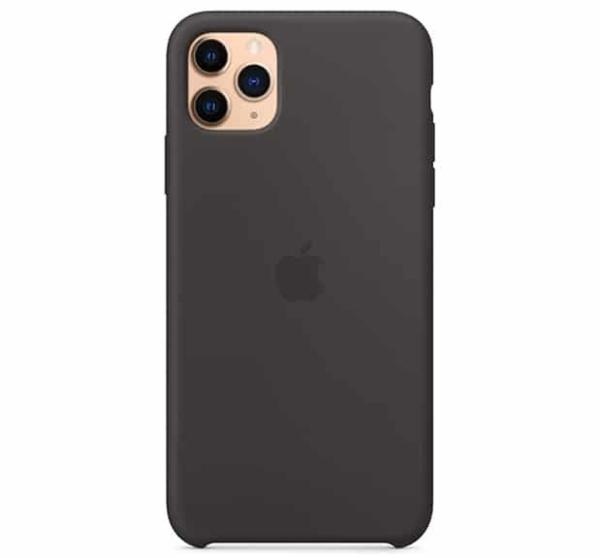 Чехол для iPhone Apple iPhone 11 Pro Max Silicone Case Black
