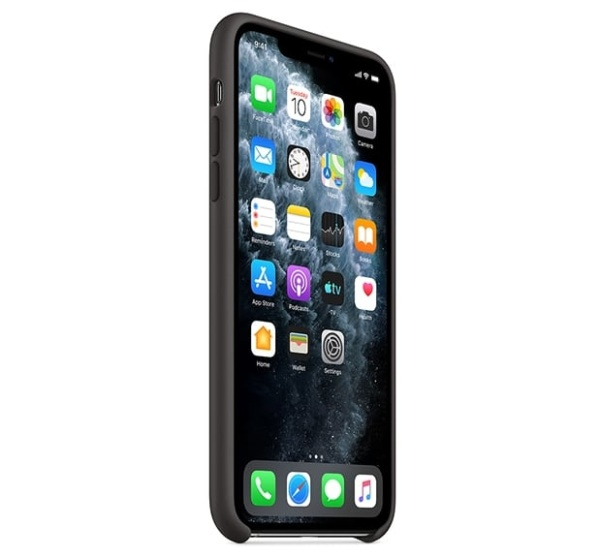 Чехол для iPhone Apple iPhone 11 Pro Silicone Case Black