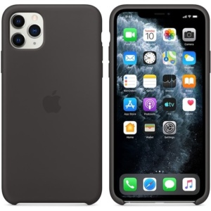 Чехол для iPhone Apple iPhone 11 Pro Max Silicone Case Black