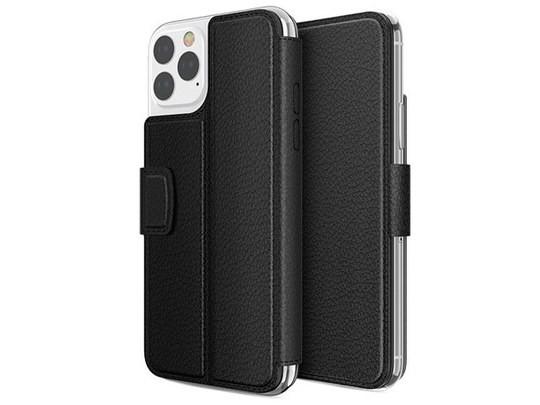 Чехол X-doria Folio Air для Apple iPhone 11 pro max (черный, кожаный)