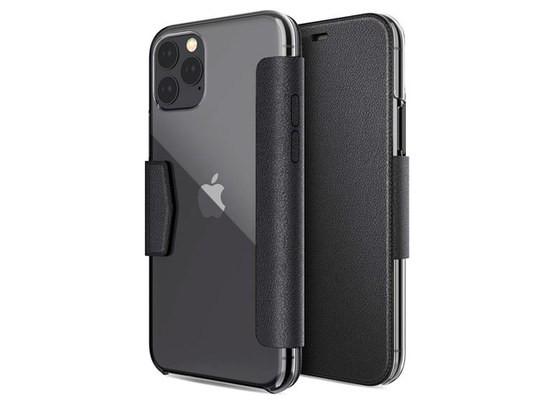 Чехол X-doria Engage Folio case для Apple iPhone 11 pro max (черный, кожаный)