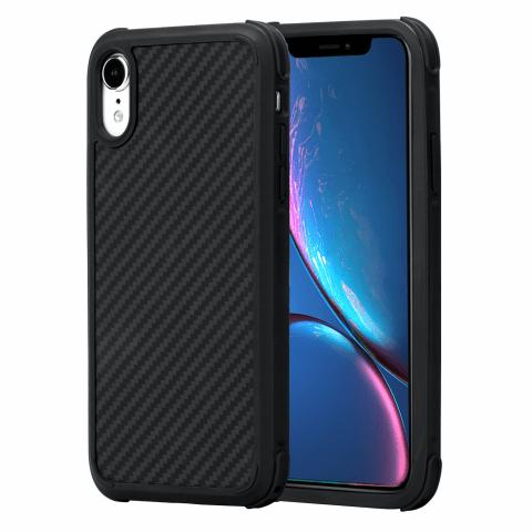Чехол Pitaka MagEZ Case PRO для iPhone XR Черно-Серый в полоску