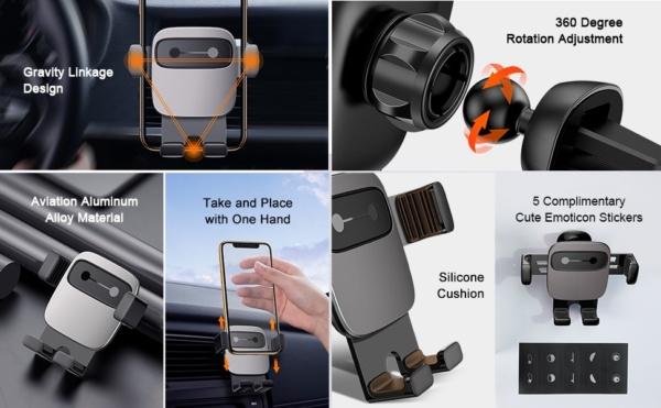 Автомобильный держатель Baseus Cube Gravity Vehicle-mounted Holder (SUYL-FK01, SUYL-FK09, SUYL-FK0S)