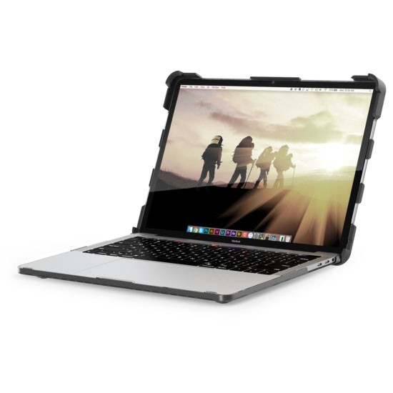 23e0c310b09641bb26332e5fd5500487 - Чехол UAG Plasma для MacBook Pro 15 (2016-2019) прозрачный (Ice)